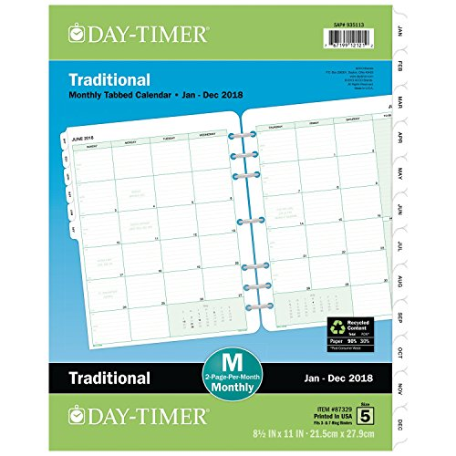Two Page Per Month Spread Features Large Ruled Blocks With Daily Scheduling To Be Done And Notes Space On The Right Hand Of